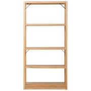 橡木材组合架 / 大 / 基本套装 / 长87×宽40×高175.5cm