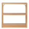 橡木材组合式置物架 / 基本组合 / 小 / 宽87×深40×高83