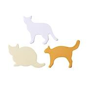 植树林纸标签纸 猫x3 各20张