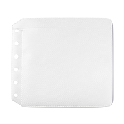 CD夹用补充袋 1枚 / 白色