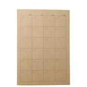 再生纸笔记本 月记 A5/32枚