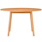 橡木材餐桌 / 圆形/120×120×72cm