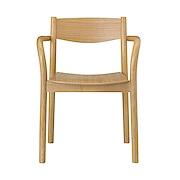 橡木椅子 宽56.5×深50.5×高75.5cm / 自然色