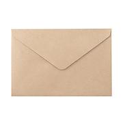 再生纸手工信封20张横型 94×140mm 20个 / 黄土颜色
