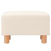 乳胶靠垫型沙发搁脚凳(高度包含沙发脚) 宽54.5×深35×高(含脚)35cm / 自然色
