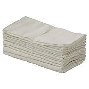 落棉抹布 12块一组 约40×40cm / 白色