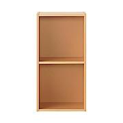 硬纸板盒 2层 A4 (2段)宽37.5×深29×高73cm / 米色