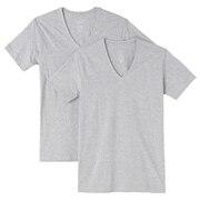 V领短袖衫·2件装
