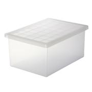 塑料搬运式收纳箱 小