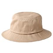 棉不易沾水平顶帽