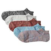 残线5双装运动船袜
