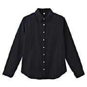 棉双重纱织衬衫